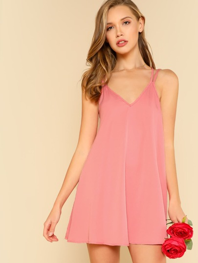 Double Strap Flowy Dress