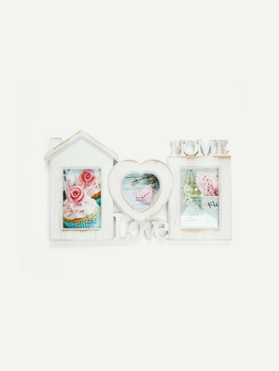 Home & Love Distressed Collage Frame