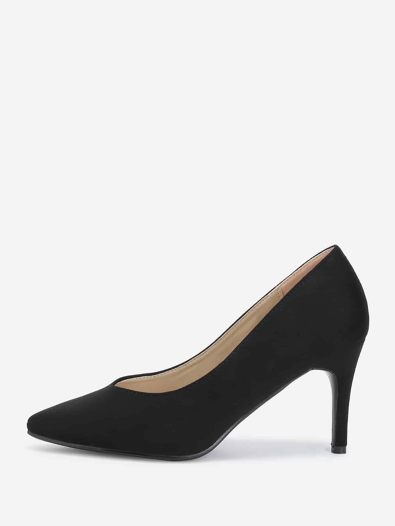 Pointed Toe Suede Stiletto Heels цена 2017