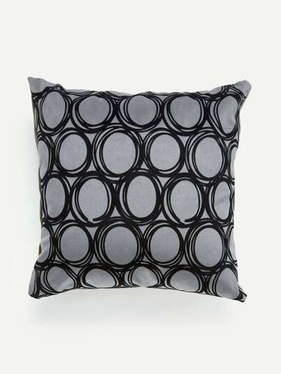 Geometric Print Pillow Case