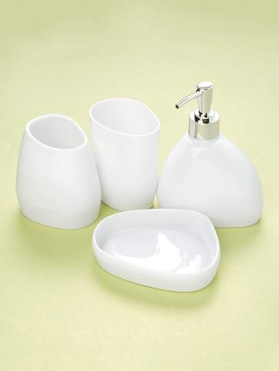 4pcs Triangle Bath Accessories Set