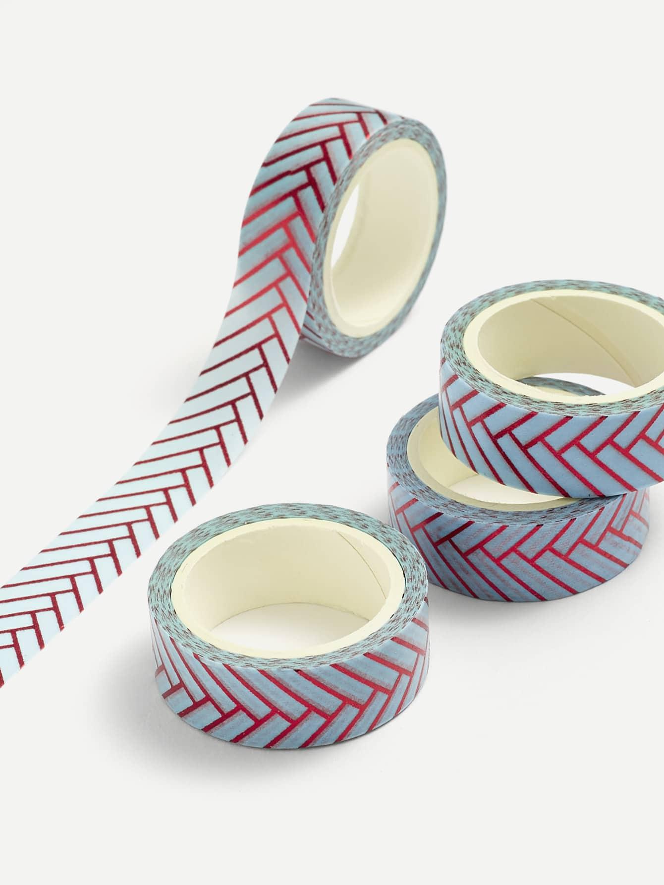 Chevron Print Masking Tape happy fairytale theatre washi tape adhesive tape diy scrapbooking sticker label masking tape