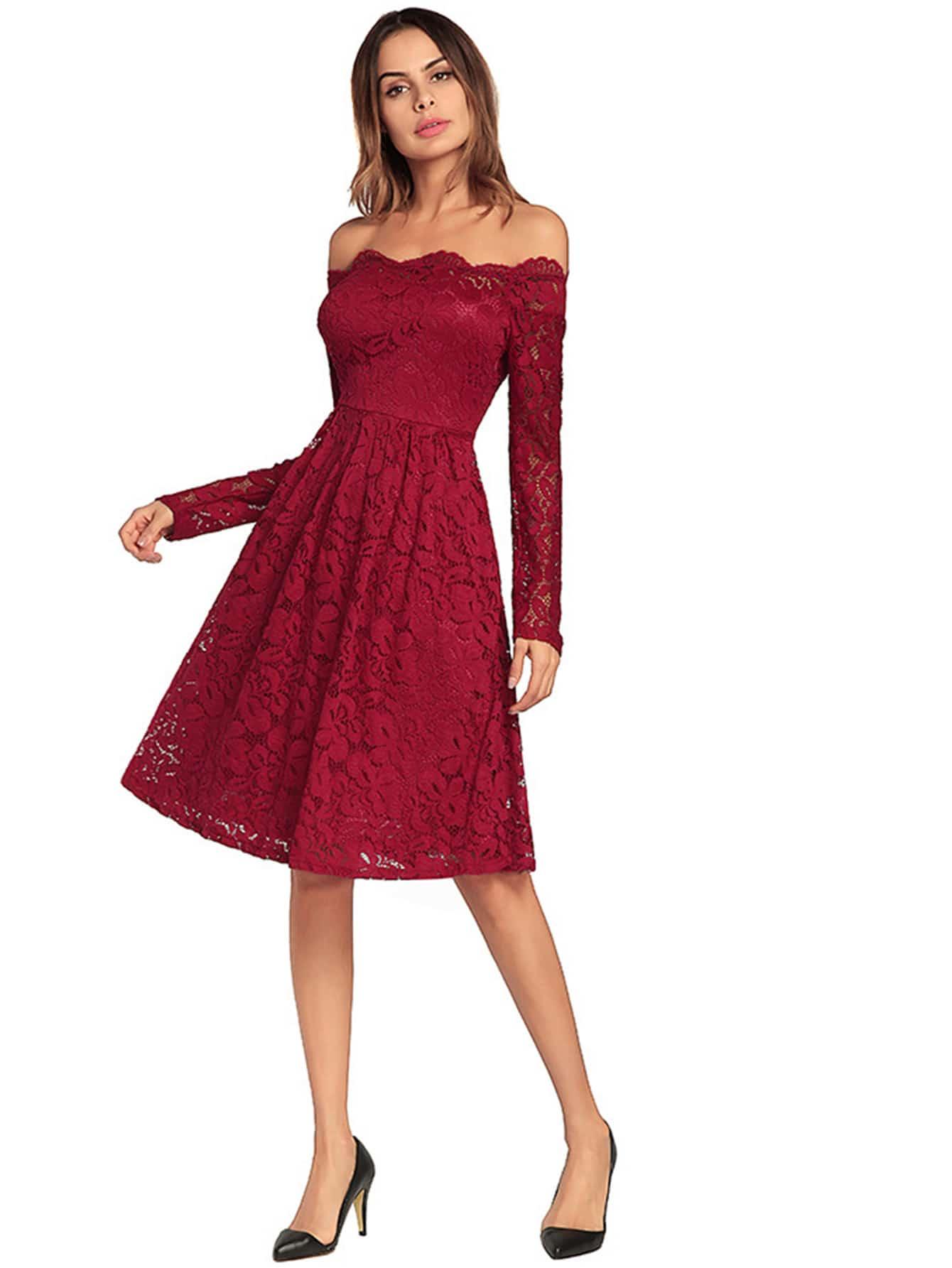 Off Shoulder Lace Dress lace off shoulder dress
