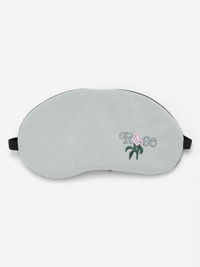 Embroidery Eye Mask