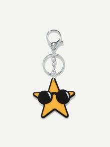 Pentagram Shaped Keychain