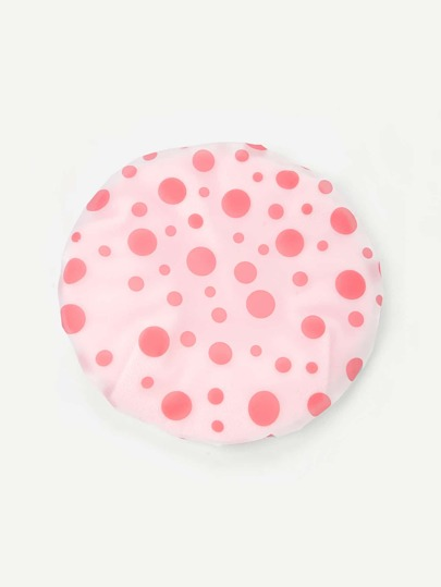 Polka Dot Dry Hair Hat