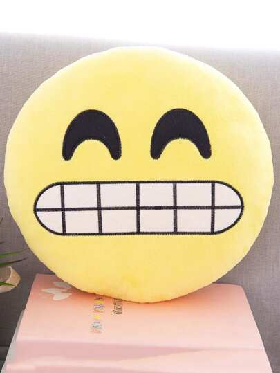 Emoji Facial Expression Pillow