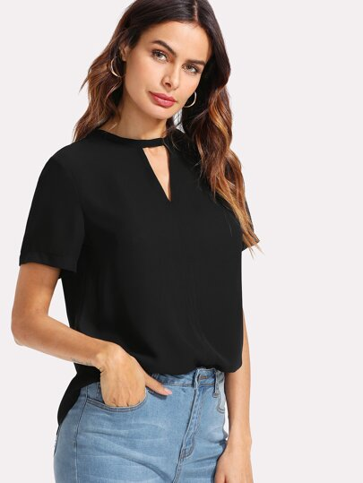 V Cut Solid Top