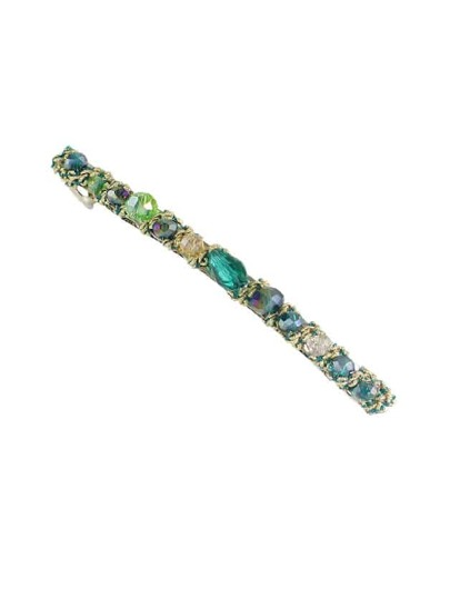 Green Colorful Barrettes Hairwear