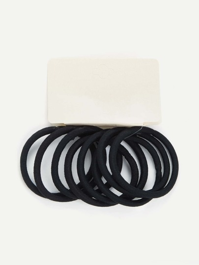 Simple Hair Tie 8pcs