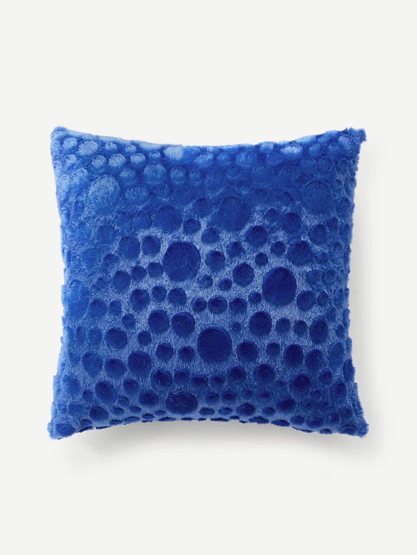 Embossed Faux Fur Pillow Case