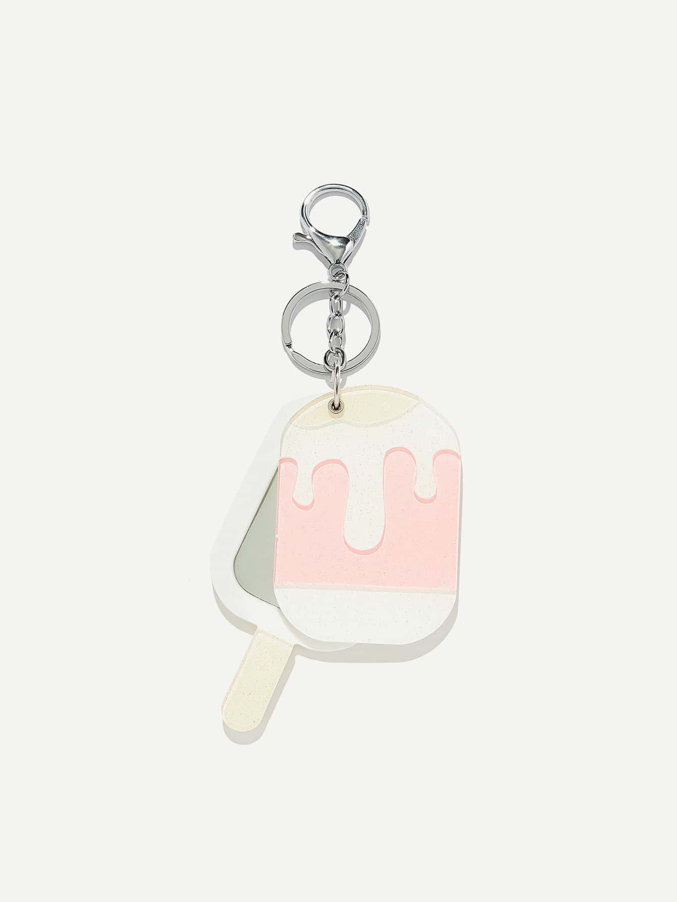 Popsicle Shaped Keychain
