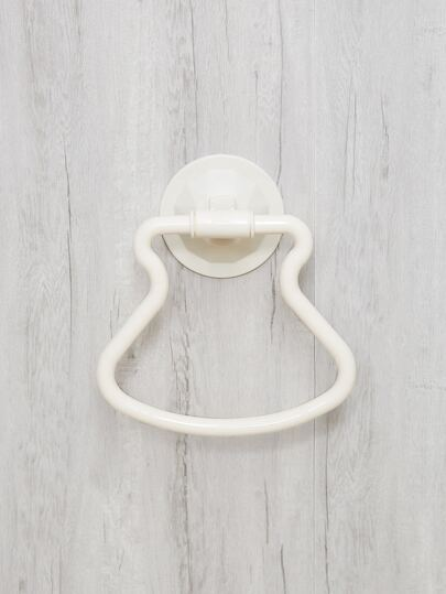 Wall Attachable Bath Towel Hanger