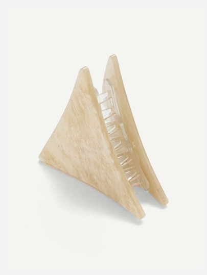 Triangle Shaped Hair Clip