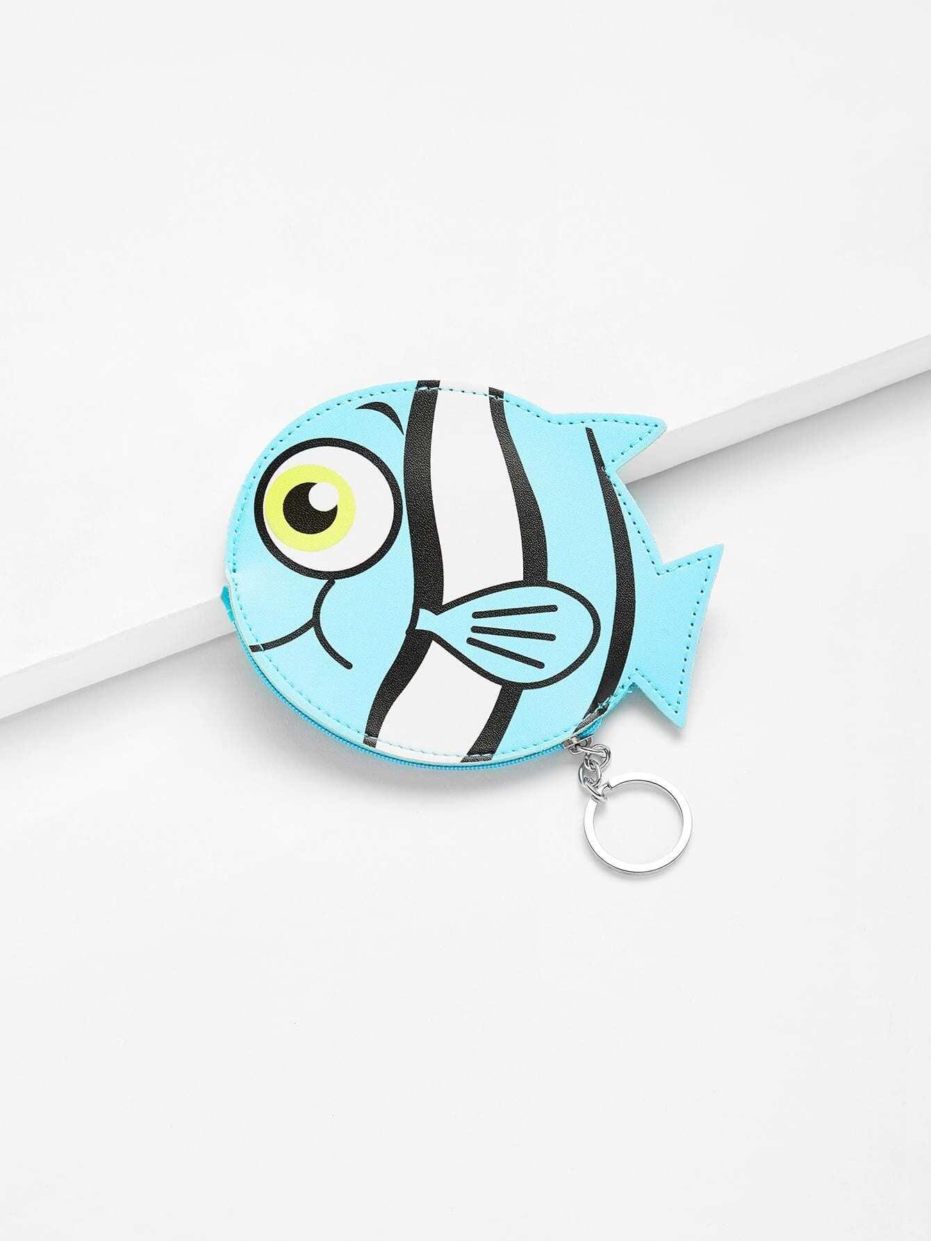 кошелек рыбка