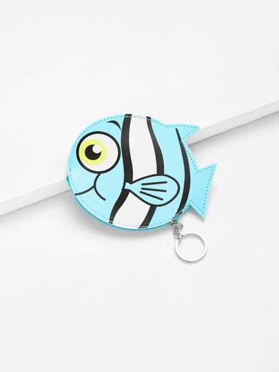 Fish Shaped Coin Pouch
