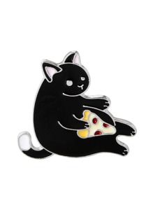 Seated Cat Pin