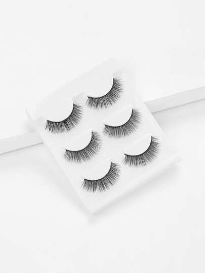Thick False Eyelashes Set 3Pairs