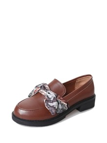 Bow Tie Wide Fit Loafers