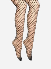 Medium Fishnet Tights 2pairs