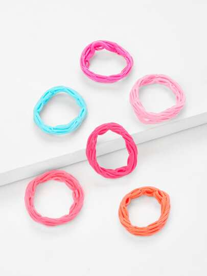 Five Color Hair Tie Set