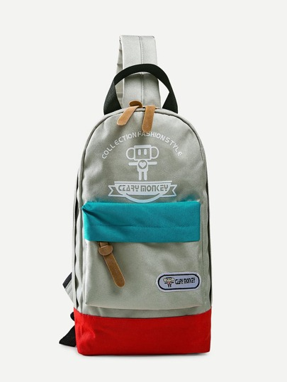 Bum Bag color block