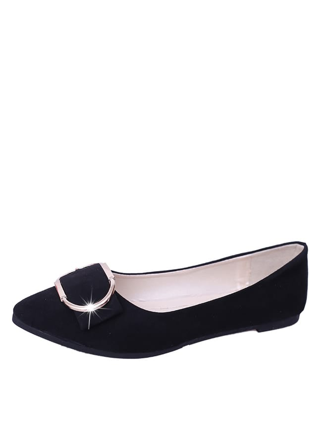 Metal Decorated Suede Flats beautoday loafers women top quality brand flats genuine leather metal decorated square toe calfskin shoes mix colors 15701
