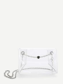 PVC Clear Shoulder Bag