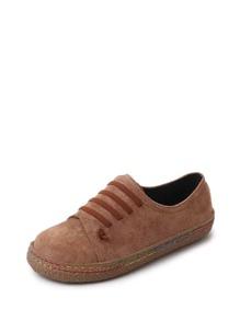 Striped Detail Slip On Sneakers