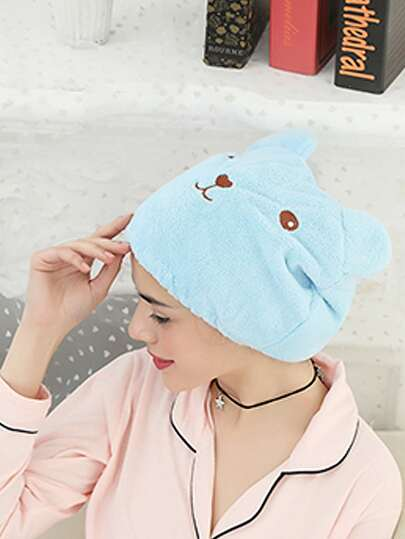 Cartoon Dry Shower Cap