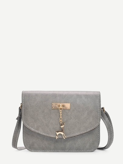 Deer Charm Shoulder Bag