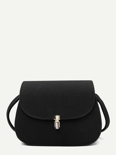 Metal Detail Saddle Bag