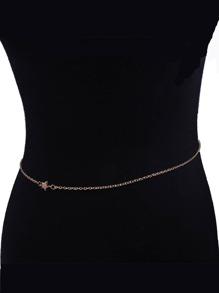 Star Decorated Waist Chain