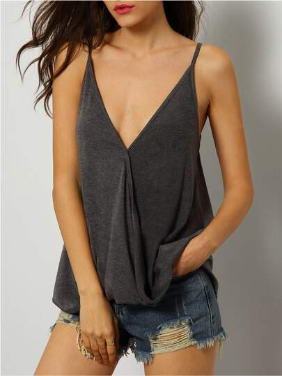 Deep V Neck Cami Top