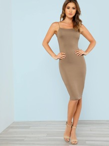 Low Back Cami Dress