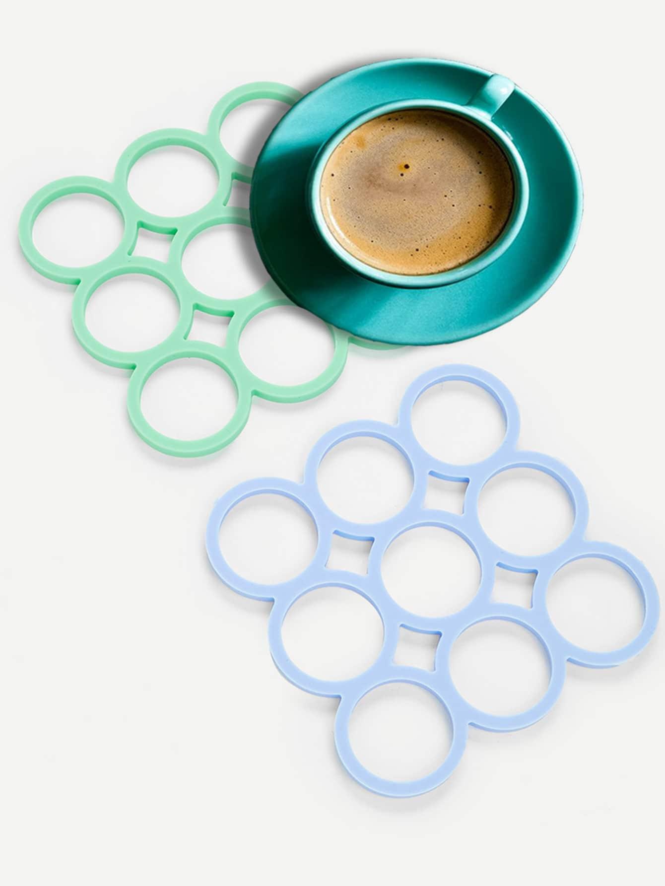 1Pc Random Color Heat Insulation Placemat
