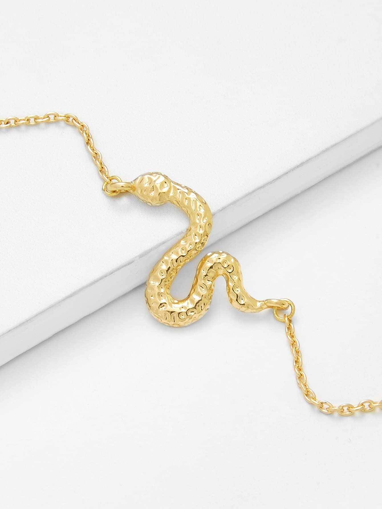 Metal Snake Design Chain Bracelet wing design chain bracelet