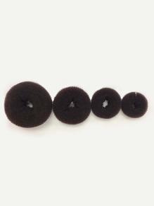 Multi Size Hair Doughnut 4pcs