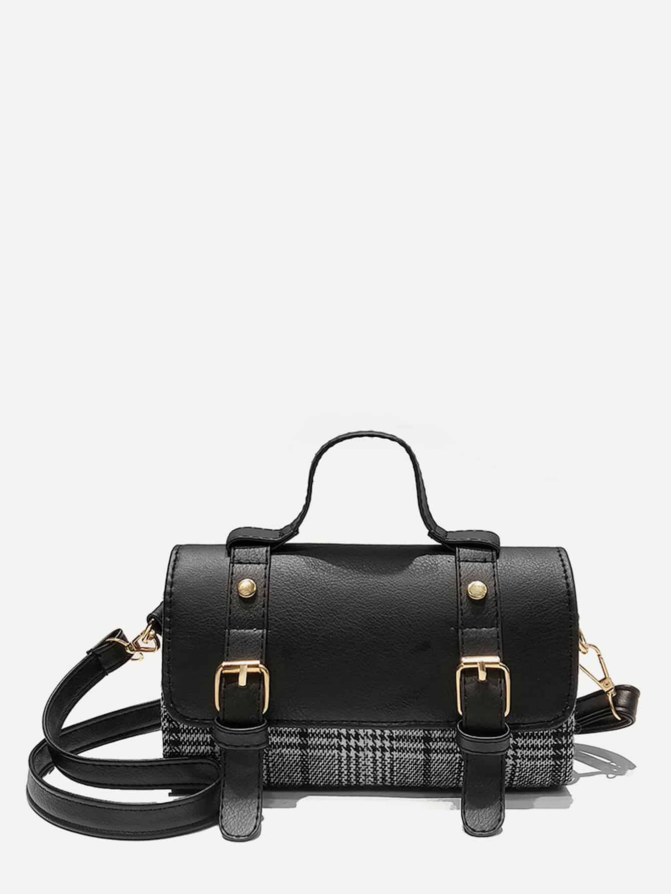 Double Buckle Bowling Bag
