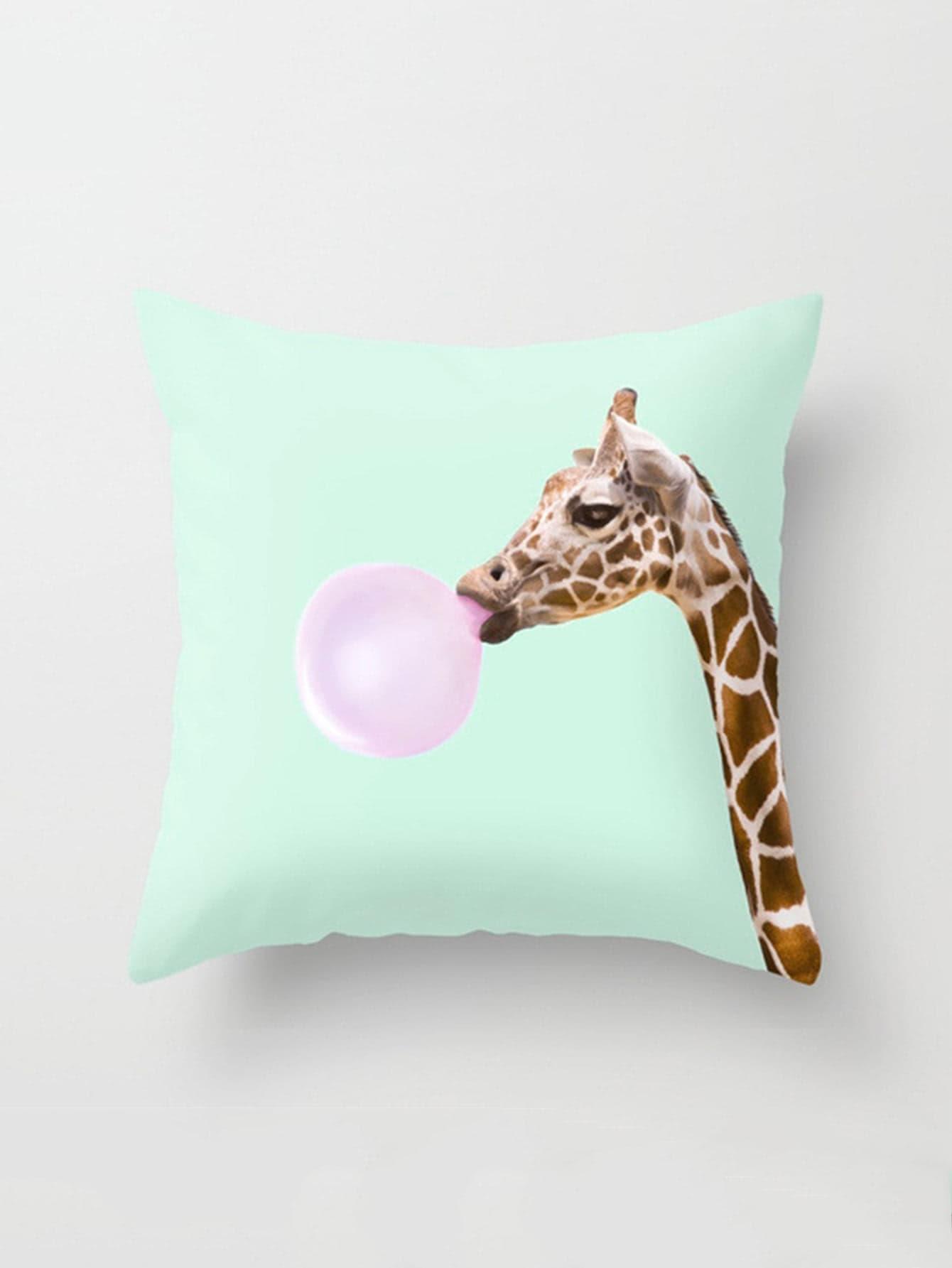 Giraffe Print Pillowcase Cover pug print pillowcase cover