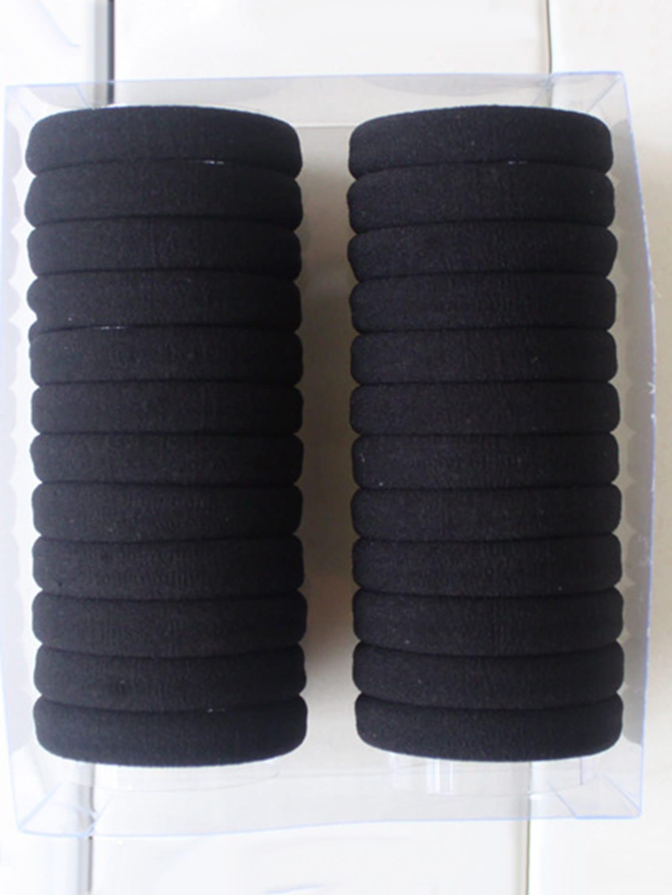 Elastic Hair Tie 24pcs hairha180311305