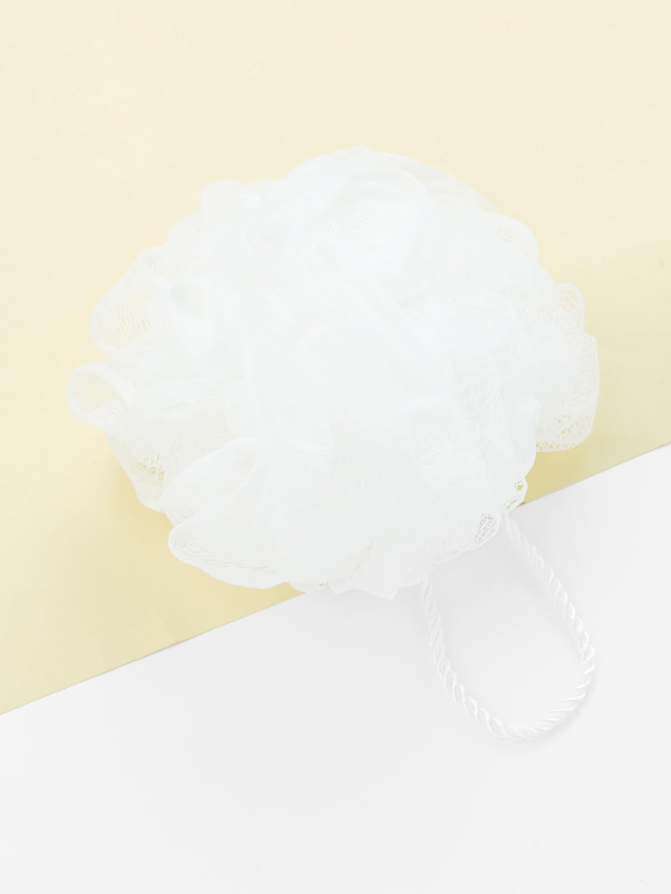 Bath Flower Foam Net rhinestone flower net bralette