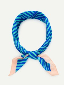 Spliced Stripe Bandana