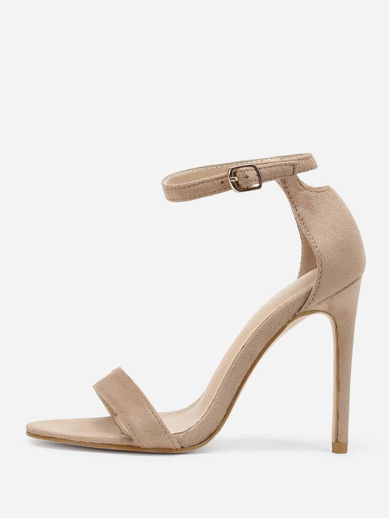 Peep Toe Ankle Strap Pumps fonirra high heels sandals sexy ankle strap thin heel pumps for women summer wedding shoes ladies party peep toe pumps 600