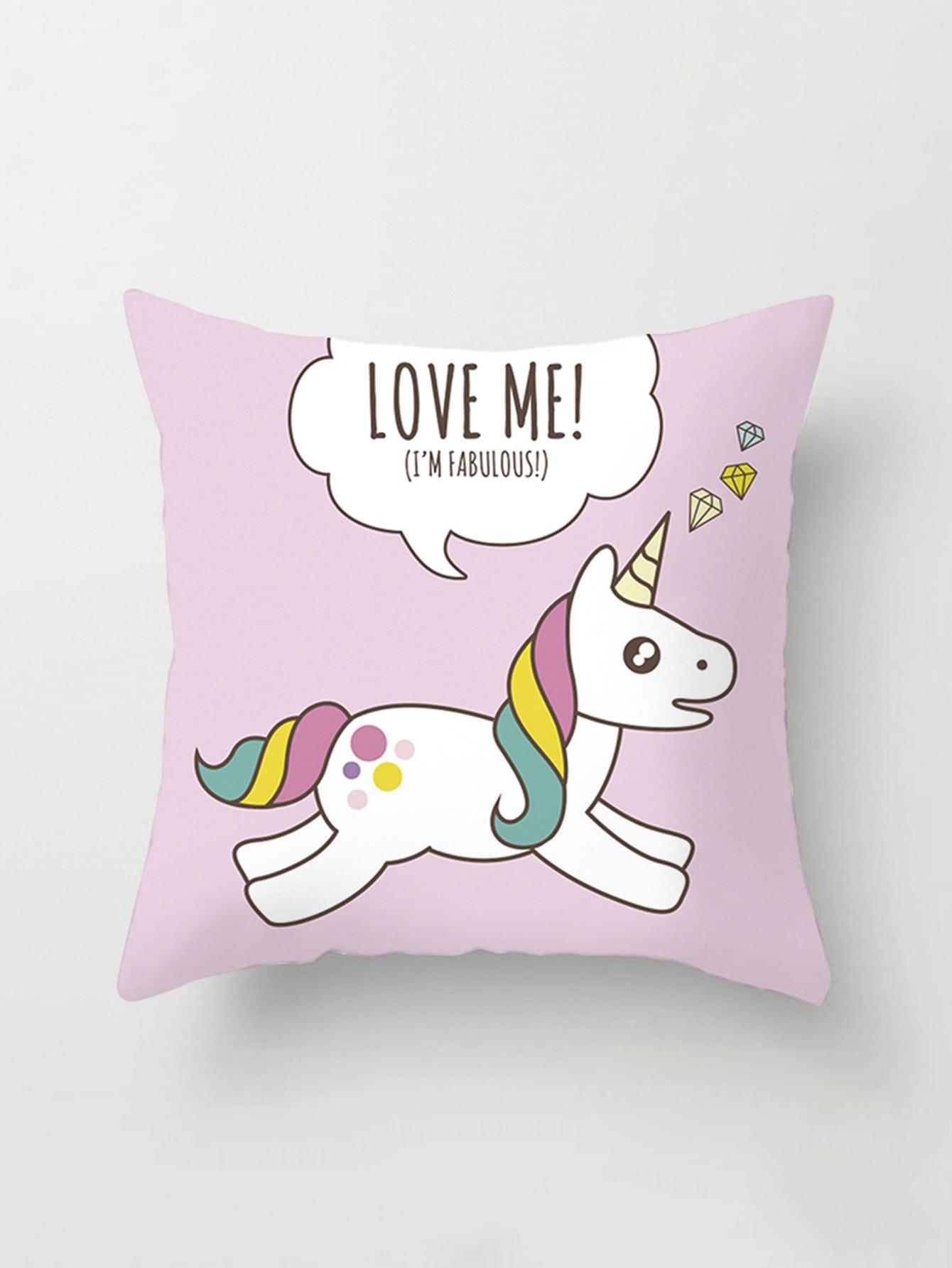 Animal Print Pillow Cover
