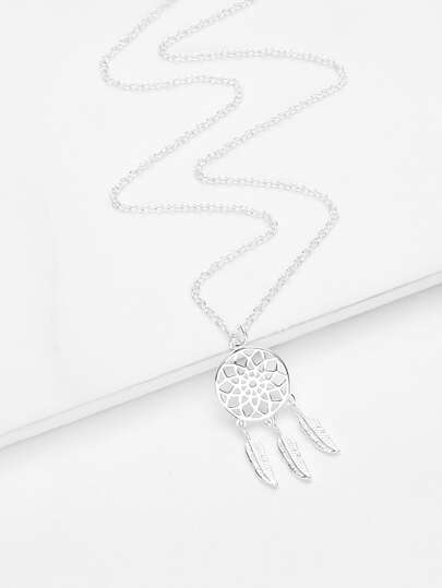 Dreamcatcher Pendant Chain Necklace