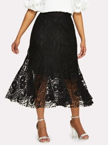 Fishtail Lace Skirt