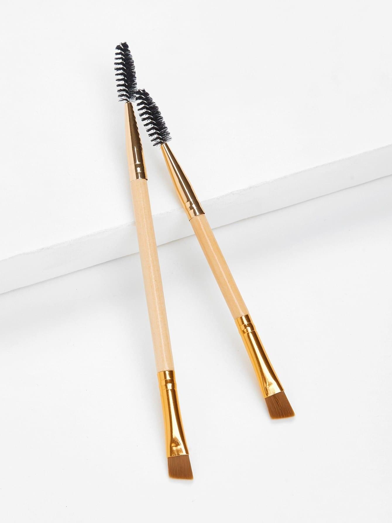 Two Head Eyebrow Brush 2pcs