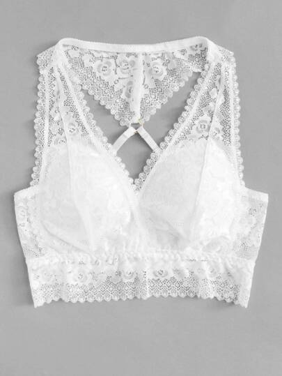 Push Up Lace Bralette
