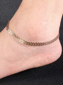 Arrow Design Chain Anklet
